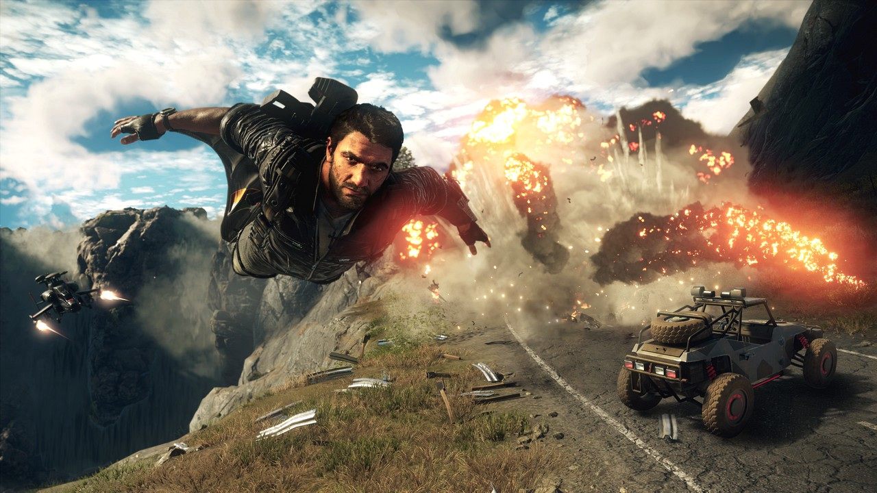 Just Cause 4: l'esplosiva avventura di Rico Rodriguez si lancia in foto e video