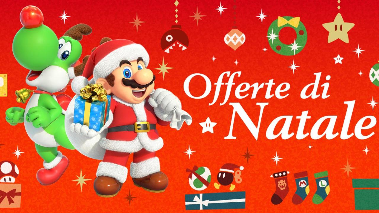 Nintendo Switch e 3DS: partono le Offerte di Natale dell'eShop