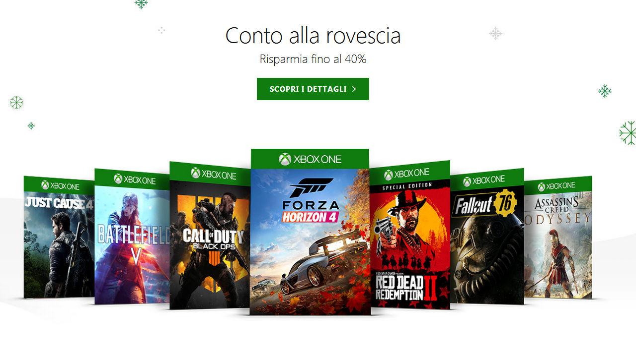 Xbox One: partono le Offerte Natalizie dello Store