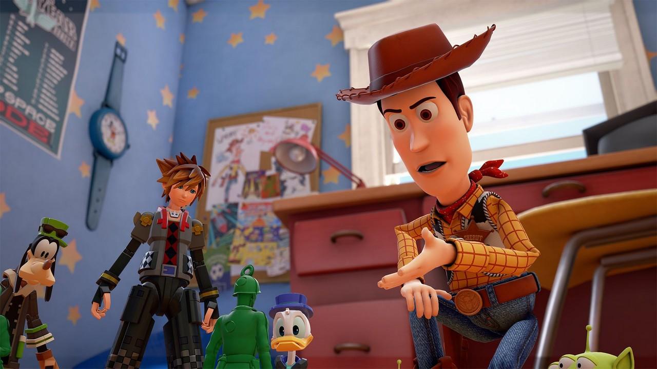 Kingdom Hearts 3: nuove immagini dai mondi Disney e Pixar