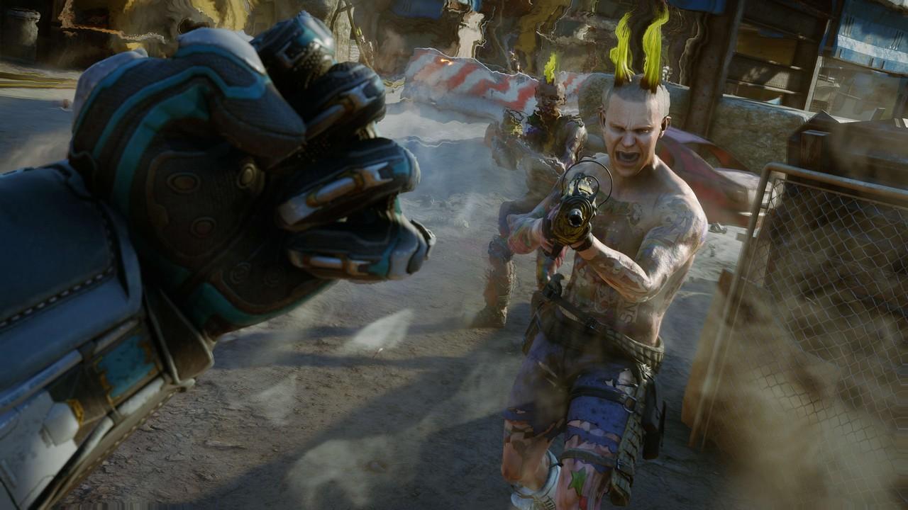 RAGE 2: immagini e video gameplay dalla Zona Devastata