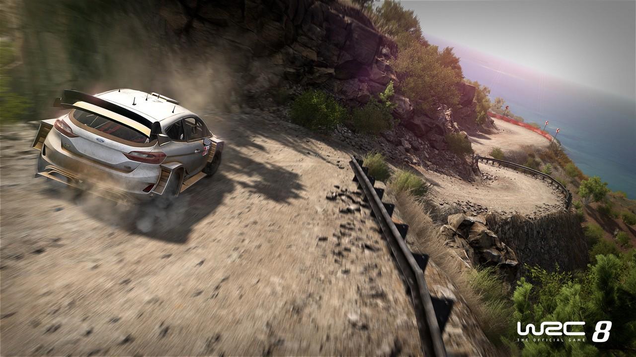 WRC 8: ecco il trailer di annuncio e le prime immagini