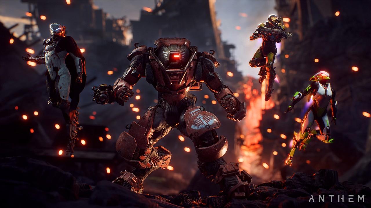 Anthem: BioWare pubblica lo spettacolare Trailer di Lancio