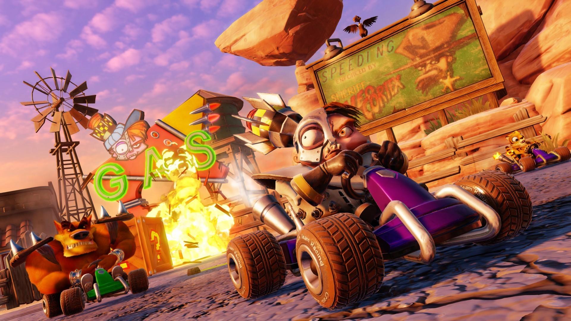 Crash Team Racing Nitro-Fueled torna a sfrecciare in foto e video
