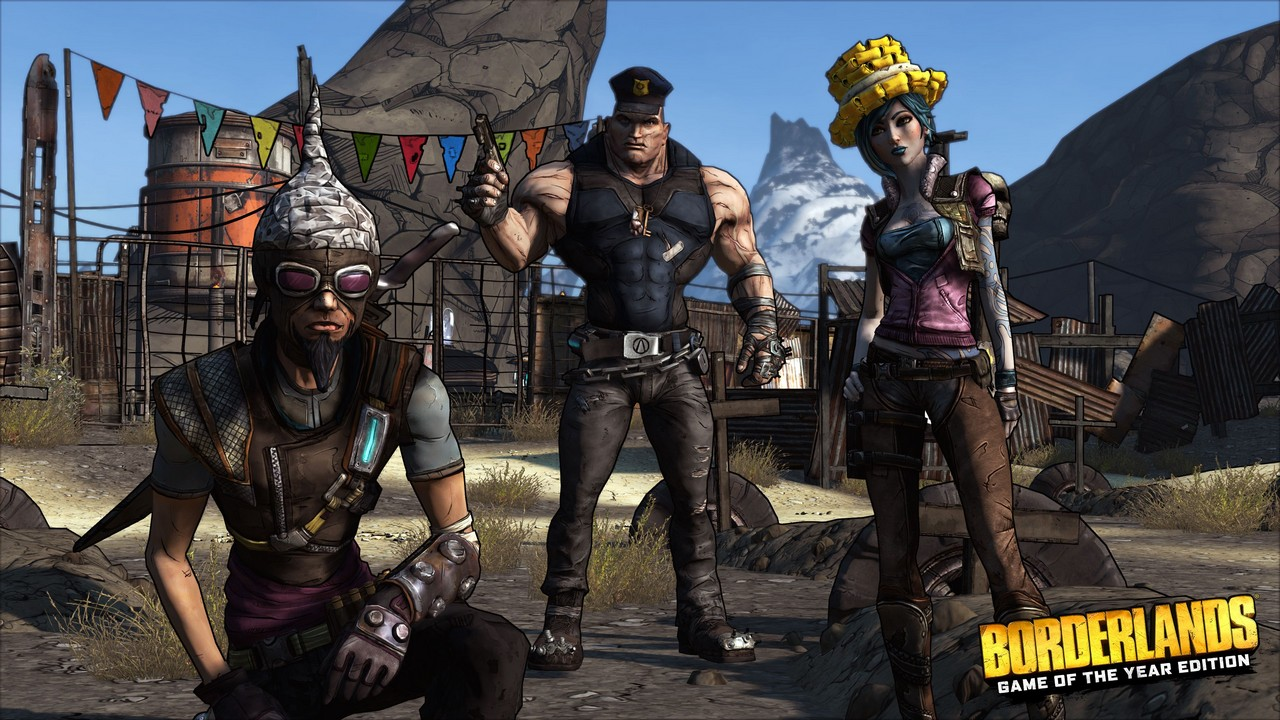 Gearbox svela Borderlands: Game of the Year Edition per PC, PS4 e Xbox One