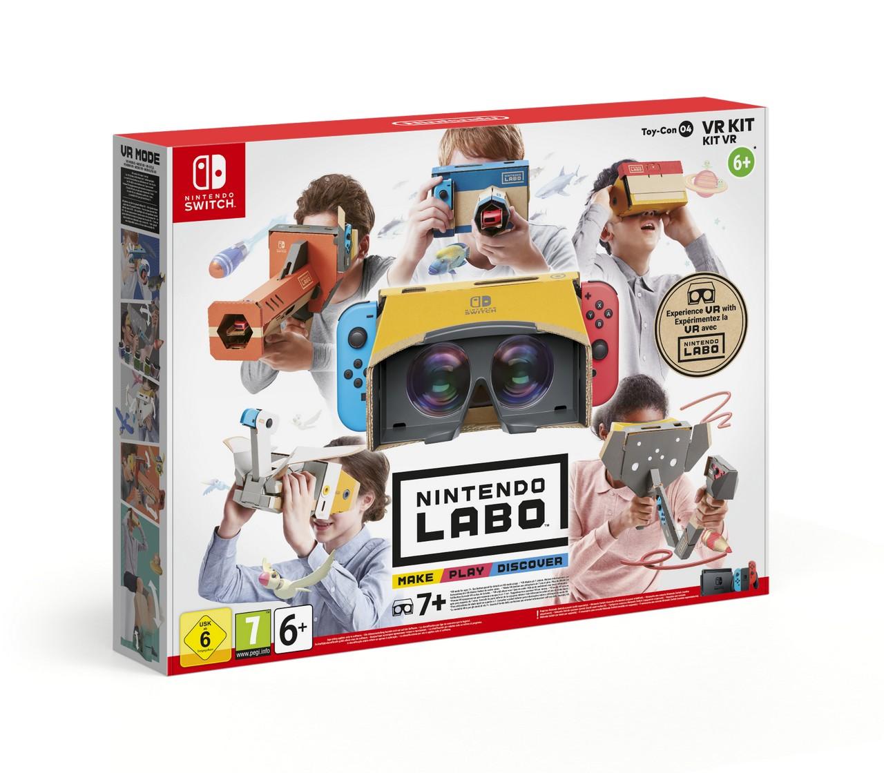 Nintendo Labo: immagini e primi dettagli sul Kit VR per Nintendo Switch