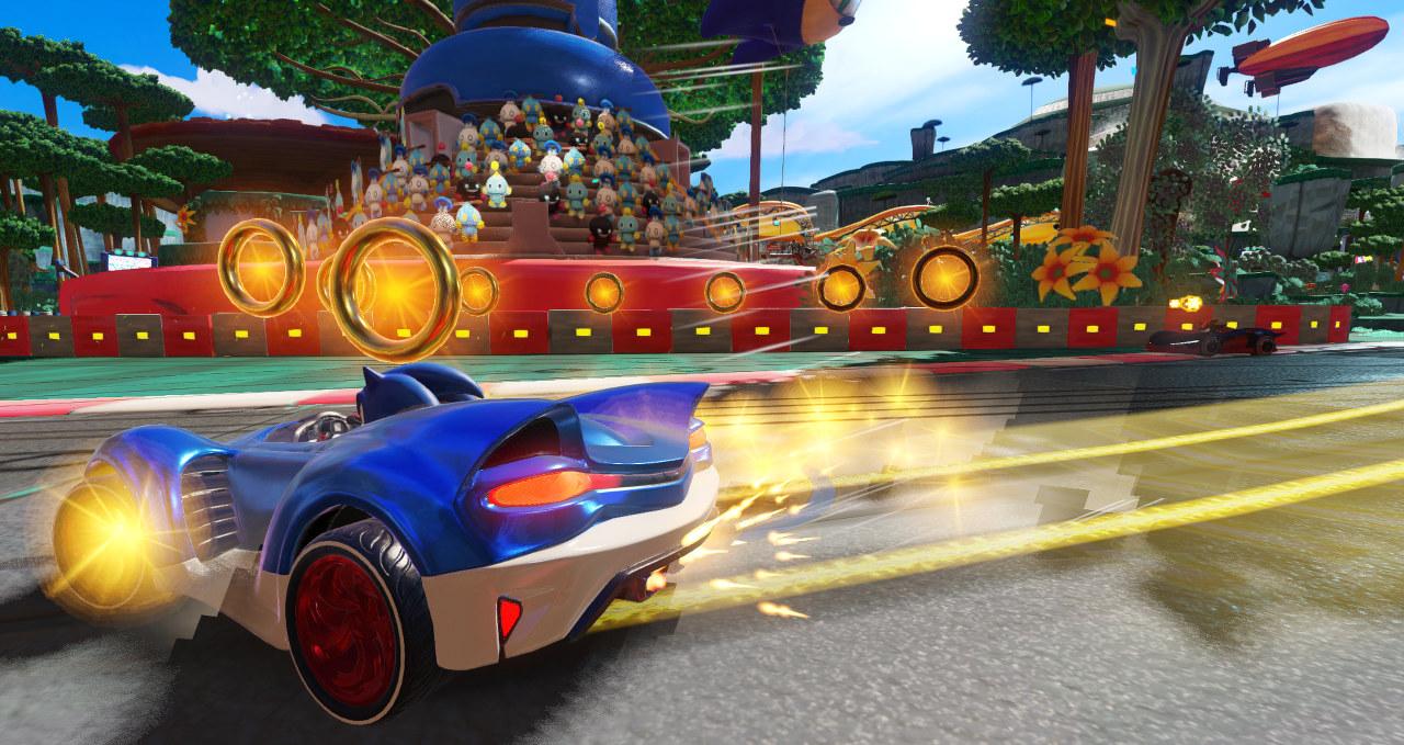 La customizzazione dei veicoli nel nuovo video di Team Sonic Racing