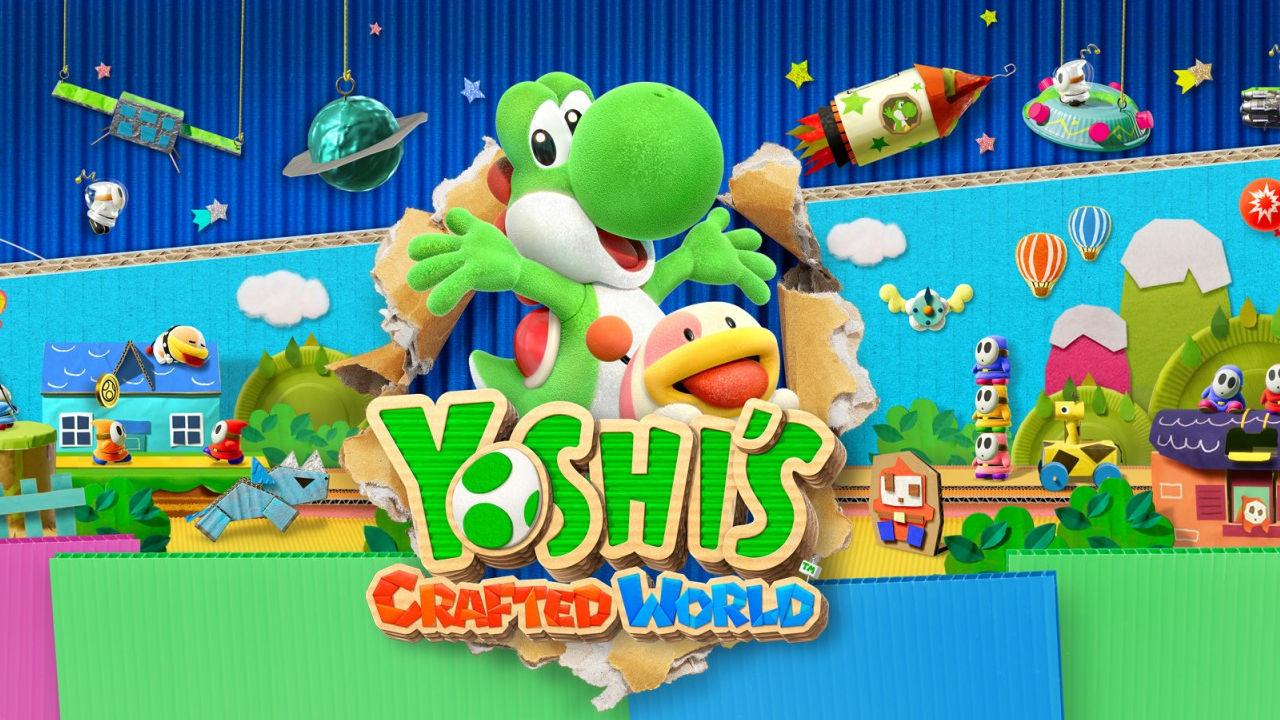Yoshi's Crafted World sbarca su Nintendo Switch: ecco il video di lancio
