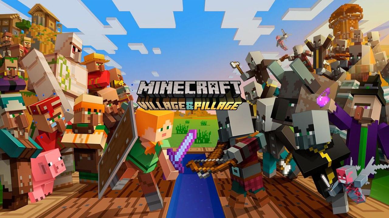 Minecraft Village and Pillage è disponibile: ecco il trailer di lancio del nuovo update