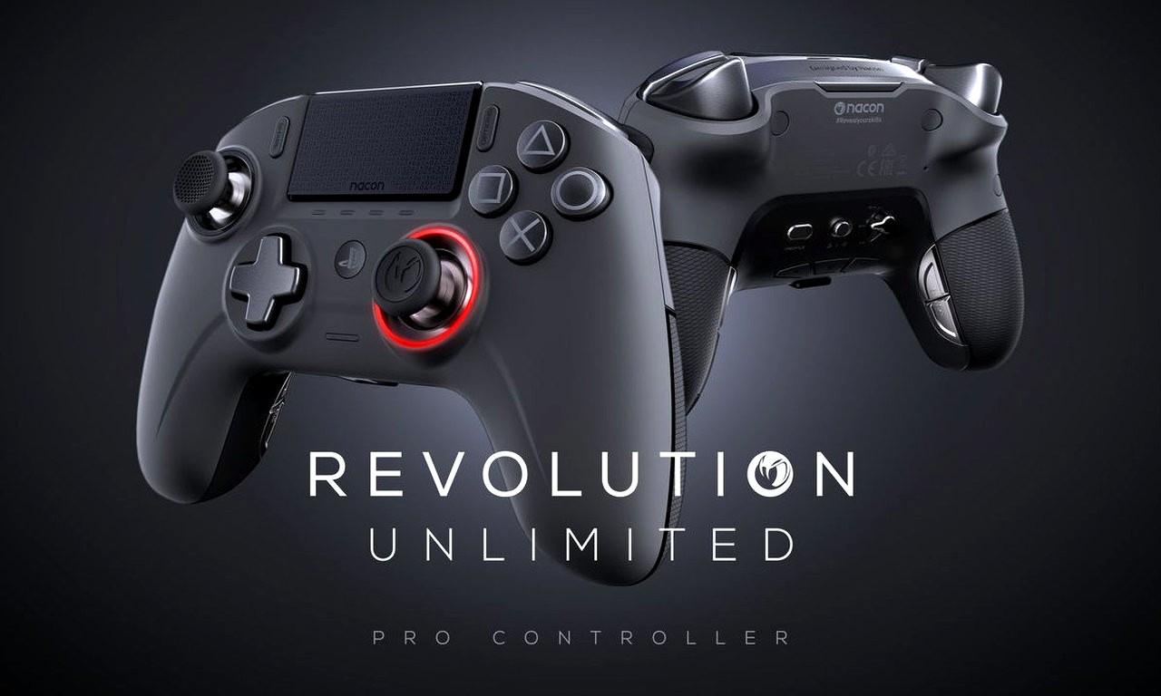 Il Controller Revolution Unlimited Pro di NACON è disponibile