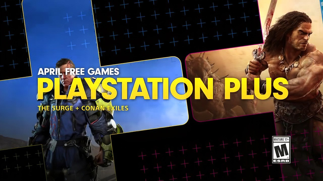 Conan Exiles e The Surge: i giochi PS Plus di aprile approdano gratis su PS4