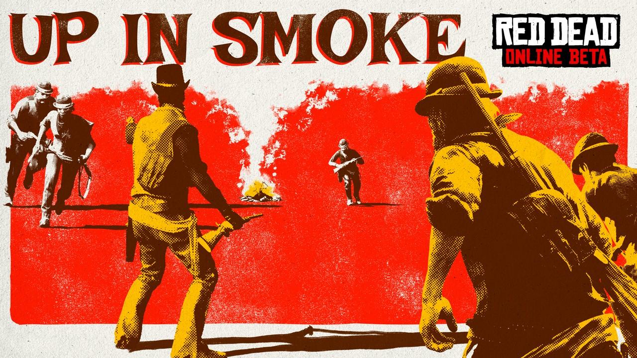 Red Dead Online si aggiorna con la nuova modalità Tutto in Fumo