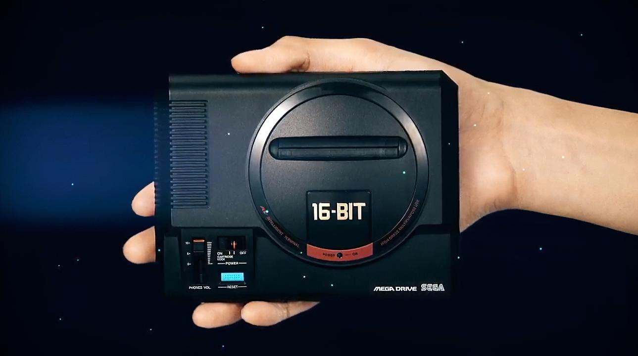 SEGA Mega Drive Mini è ufficiale: ecco i giochi inclusi