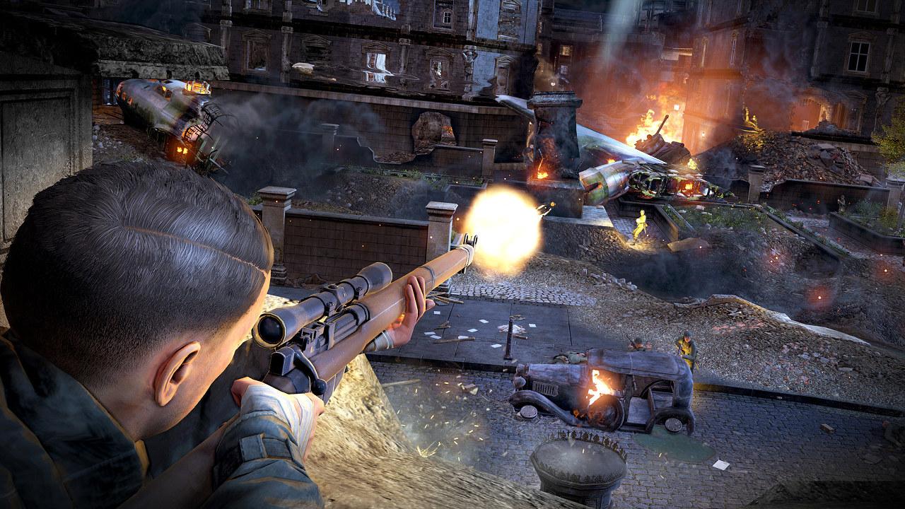 Sniper Elite V2 Remastered: nuova video comparativa con l'FPS originario