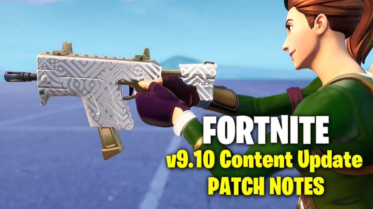 Fortnite 9.10 Content Update: ecco date, orari e novità dell'aggiornamento