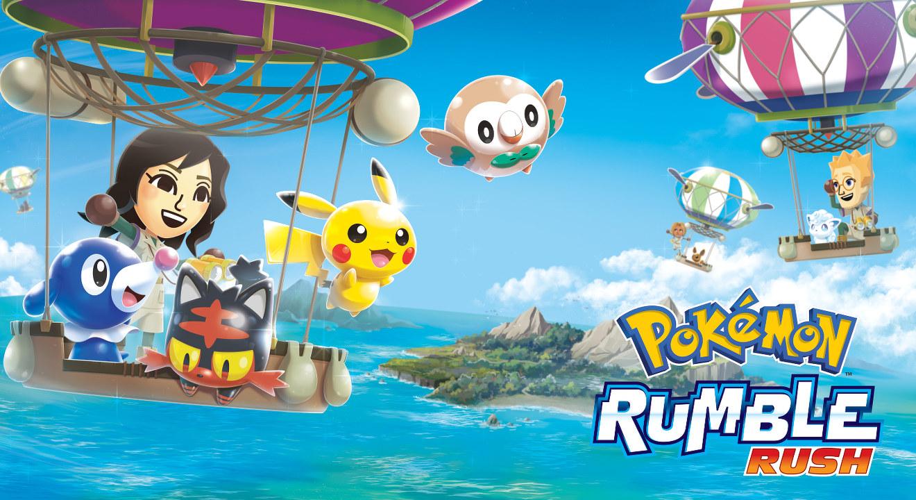 Svelato Pokemon Rumble Rush: presto in arrivo su sistemi mobile iOS e Android