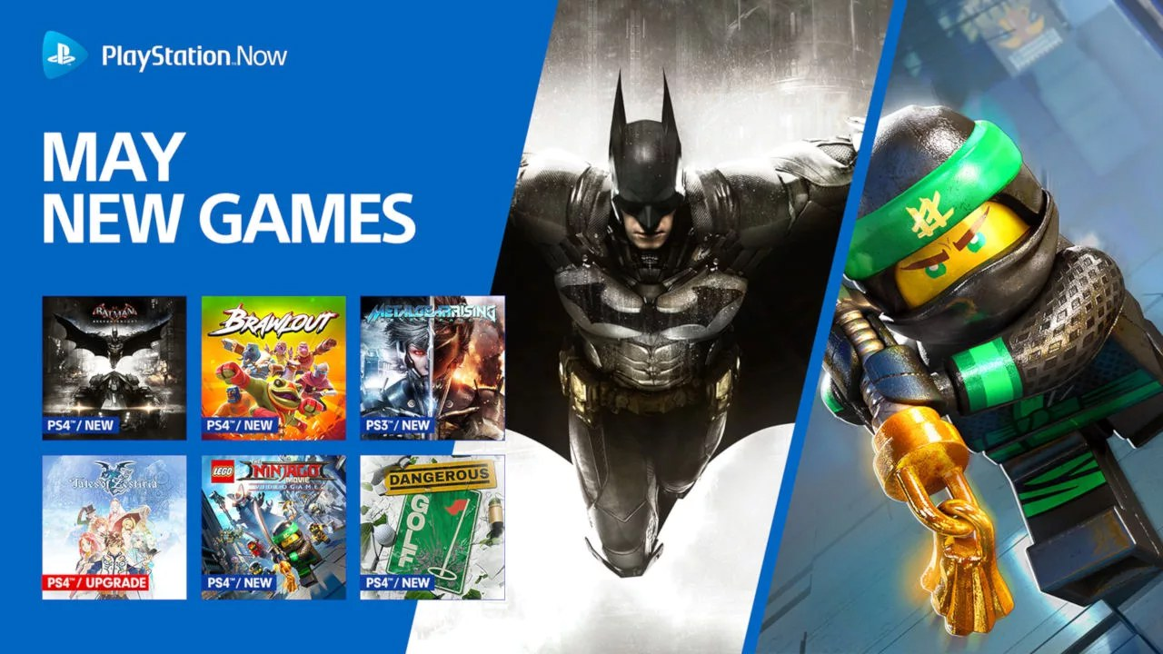 PS Now di maggio: arrivano Batman Arkham Knight e Metal Gear Rising Revengeance