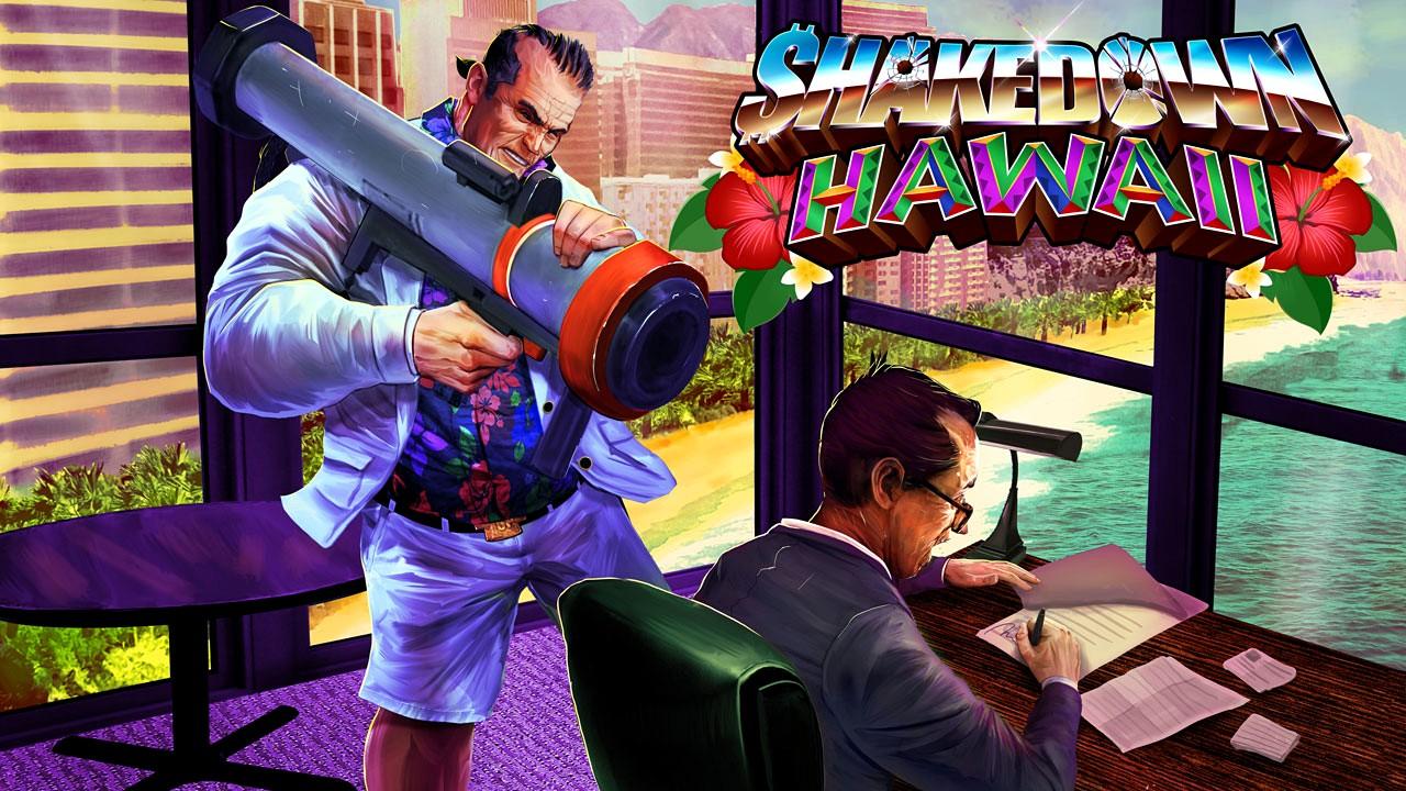 Shakedown Hawaii: il nuovo gameplay trailer anticipa l'uscita su PC e console