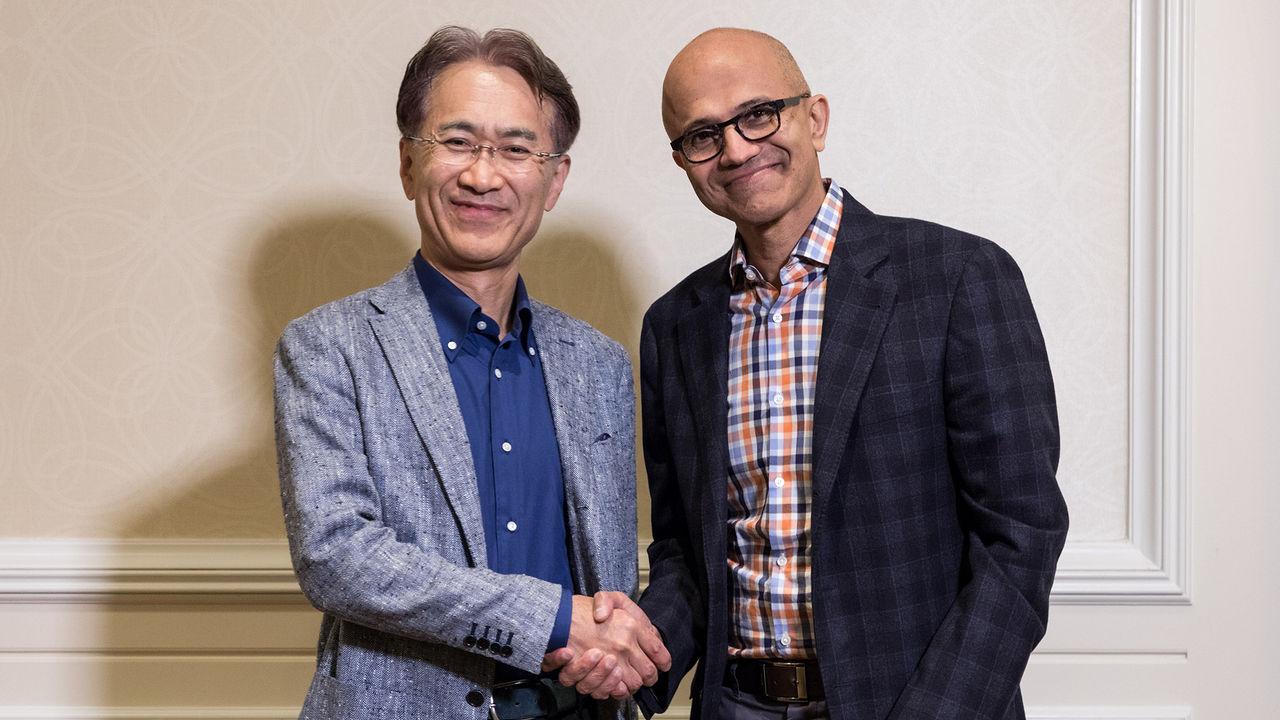 Sony e Microsoft si alleano per esplorare il futuro del cloud gaming