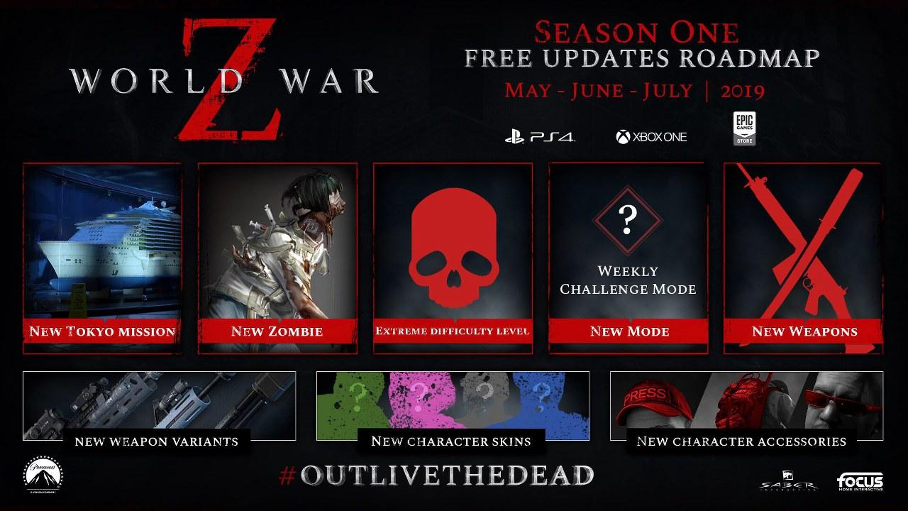 World War Z: Saber Interactive svela la roadmap dei contenuti post-lancio