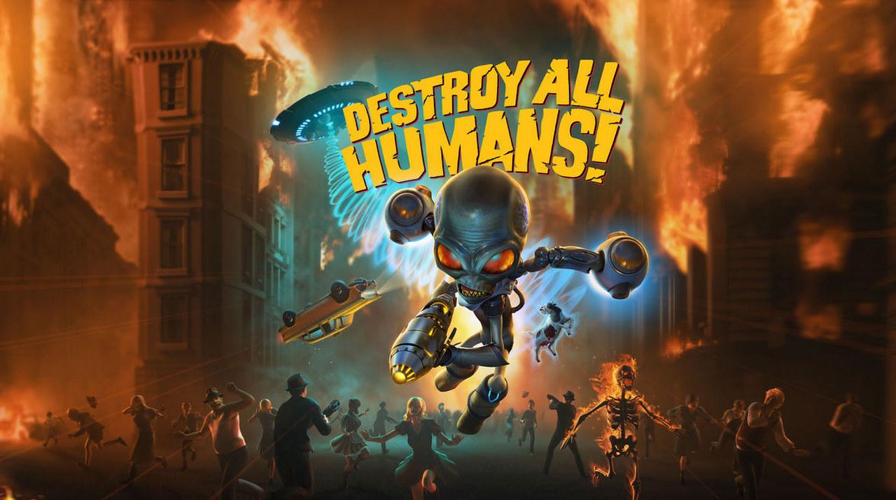 Immagini e video di annuncio di Destroy All Humans! su PC, PS4 e Xbox One