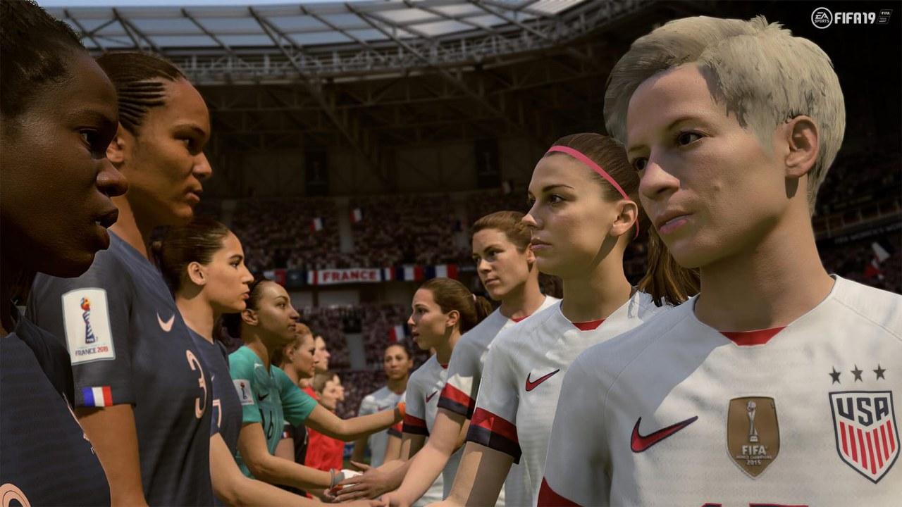 FIFA 19: disponibile l'update con le nazionali del mondiale di calcio femminile