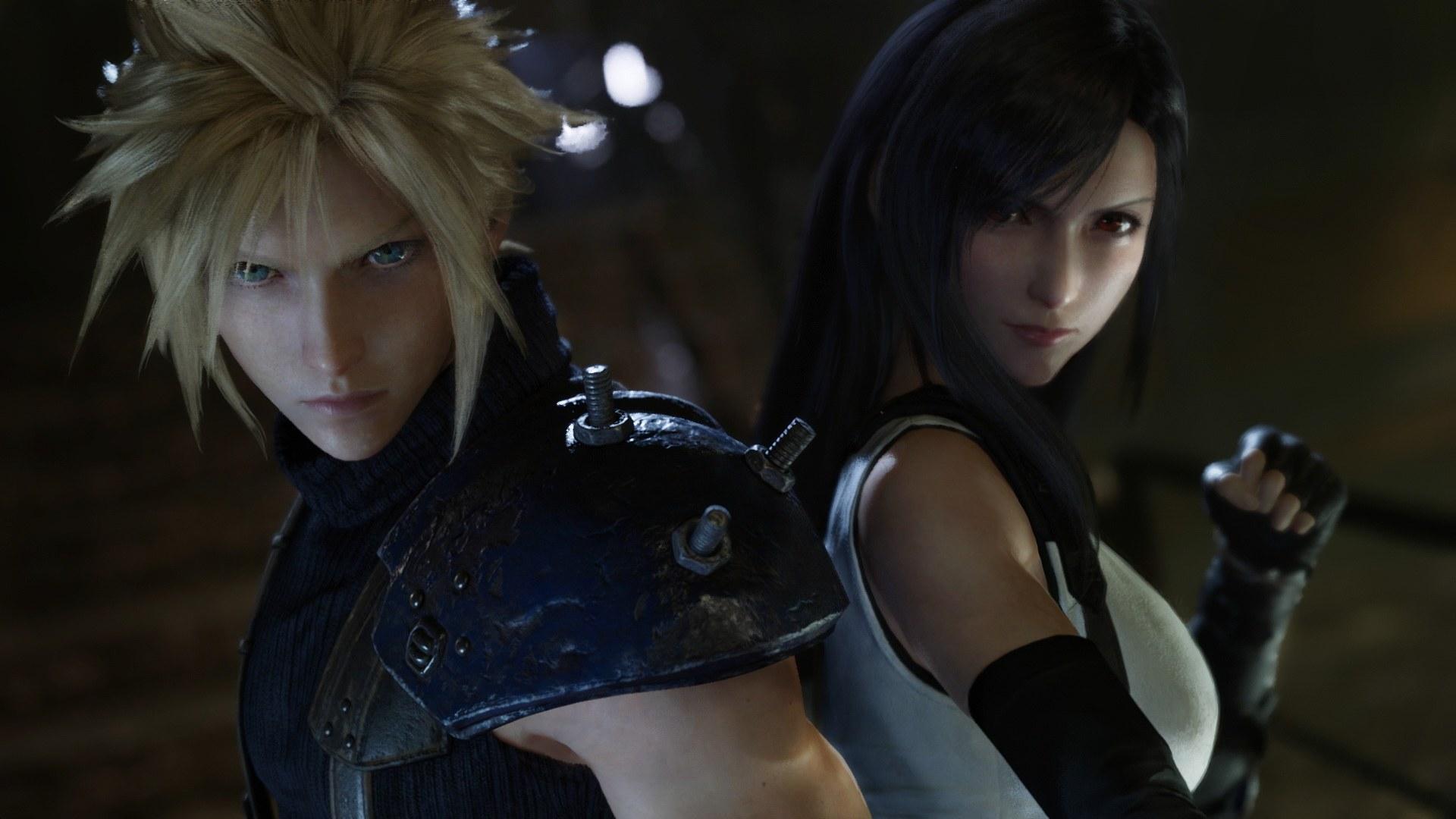 Final Fantasy 7 Remake per PS4: nuovi screenshot con Cloud e Tifa