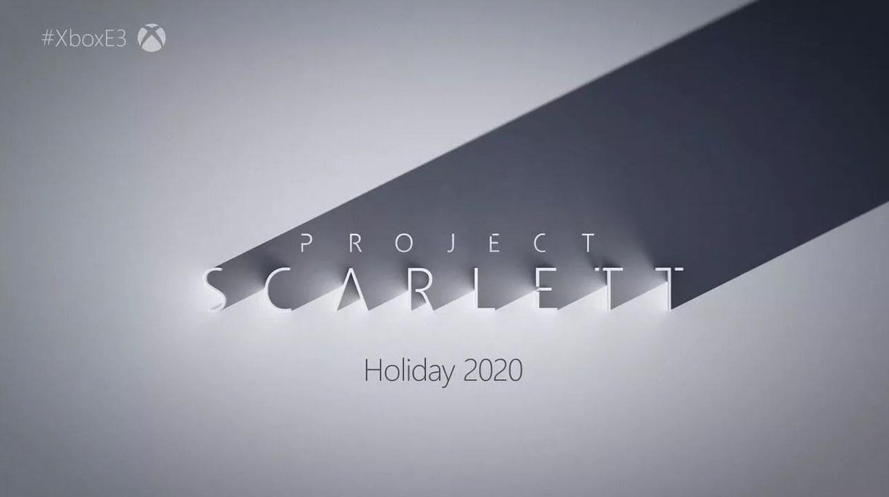 Microsoft annuncia Xbox Scarlett: la console next-gen arriverà a Natale 2020!