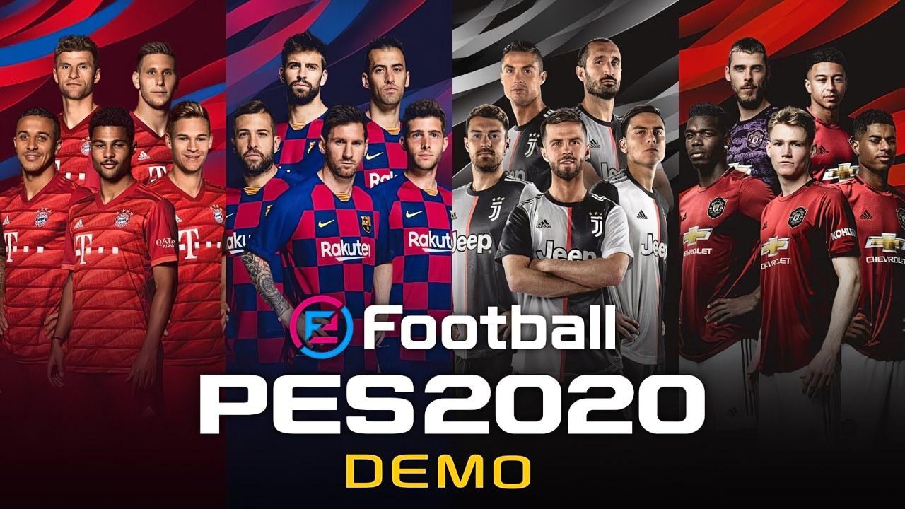eFootball PES 2020: la Demo è disponibile, c'è anche la Juventus