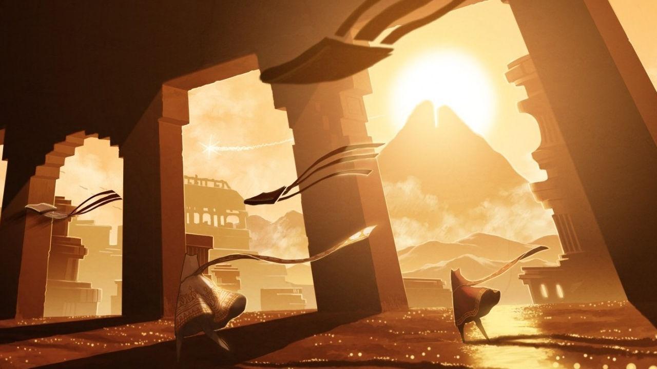 Journey: l'iconica avventura sbarca a sorpresa su sistemi iOS